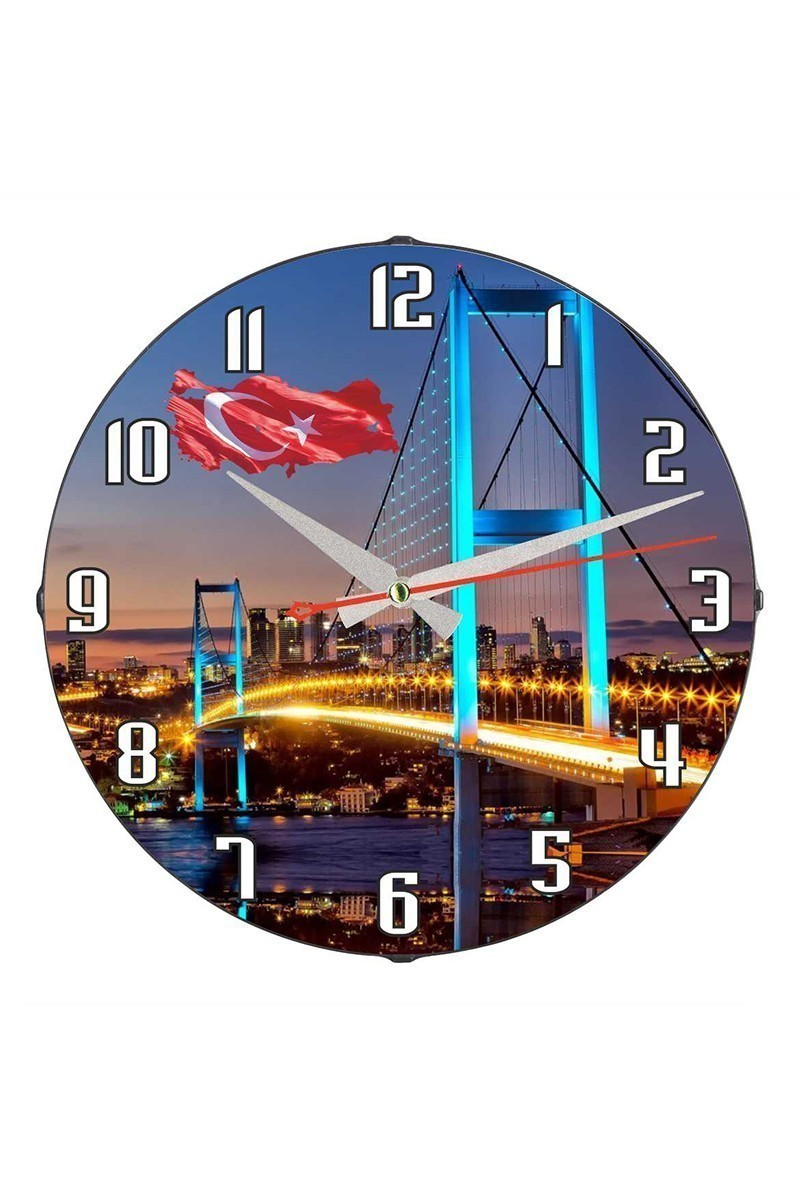 Tempo Karışık Renkli DP-3004-033 Duvar Saati