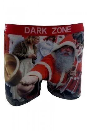 Dark Zone Karışık Renkli DZN-1069 Yılbaşı Özel Erkek Boxer