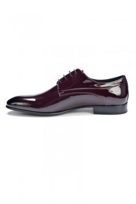 BLUESOIL Bordo BS-9001 Erkek Rugan Ayakkabı