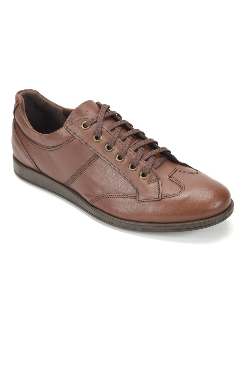 Ramero Kahverengi RMR-7079 Hakiki Deri Erkek Ayakkabı