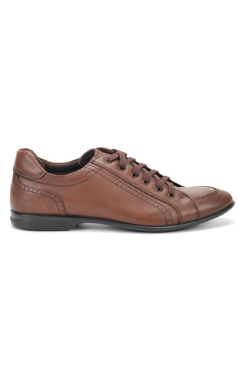 Ramero Kahverengi RMR-8021 Hakiki Deri Erkek Ayakkabı