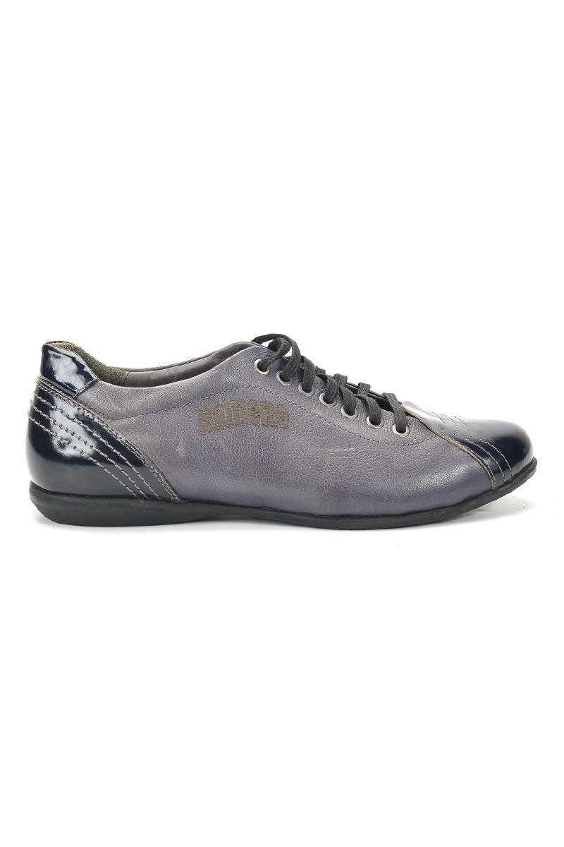 Ramero Lacivert RMR-570 Hakiki Deri Erkek Ayakkabı