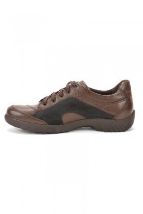 Ramero Kahverengi-Siyah RMR-1925 Hakiki Deri Erkek Ayakkabı