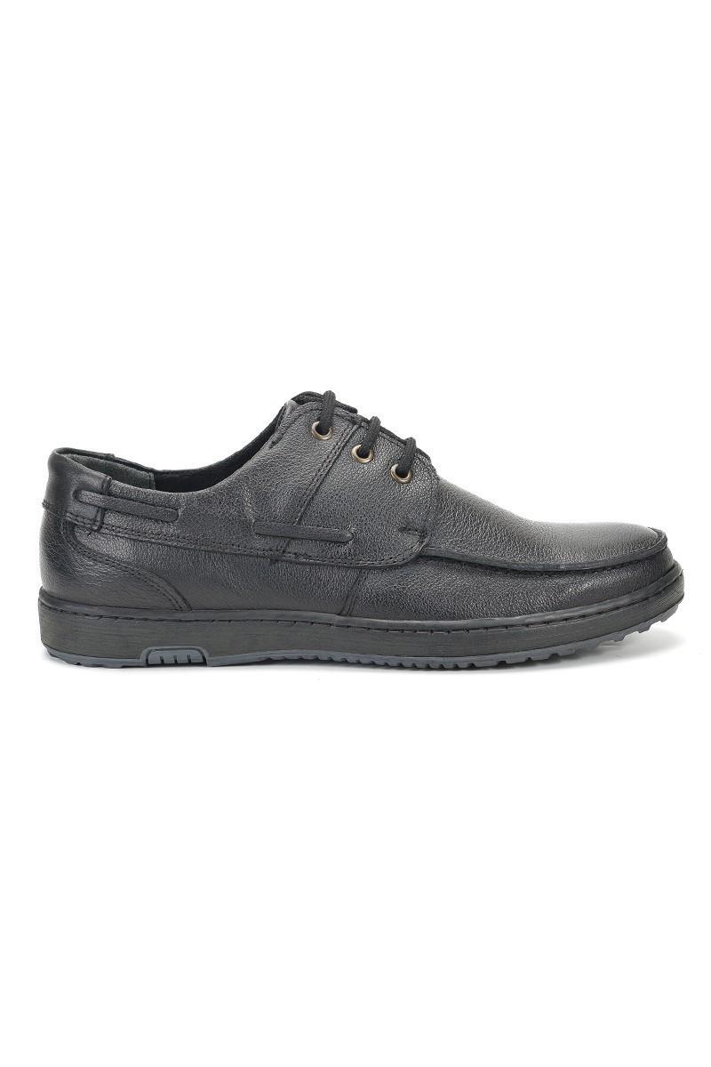 Ramero Siyah RMR-4048 Hakiki Deri Erkek Ayakkabı