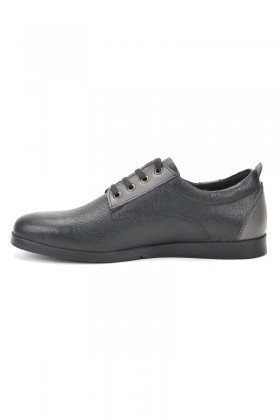 Pandew Siyah PNDW-7057 Hakiki Deri Erkek Ayakkabı