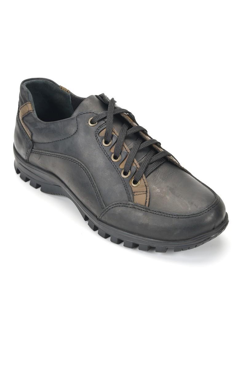Pandew Siyah RMR-4004 Hakiki Deri Erkek Ayakkabı