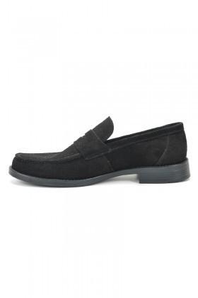 Ramero Siyah RMR-1087 Hakiki Deri Erkek Ayakkabı
