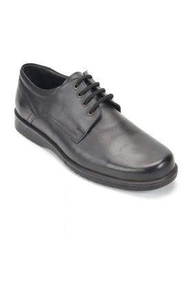 Ramero Siyah RMR-111 Hakiki Deri Erkek Ayakkabı
