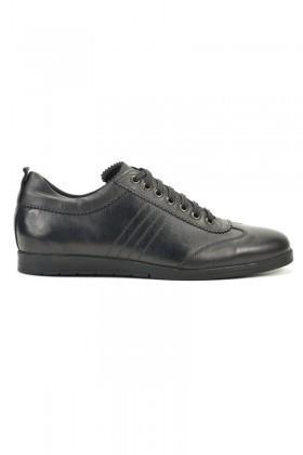 Pandew Siyah RMR-7080 Hakiki Deri Erkek Ayakkabı