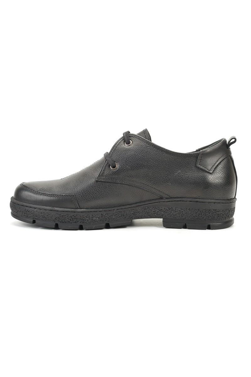 Pandew Siyah RMR-4008 Hakiki Deri Erkek Ayakkabı