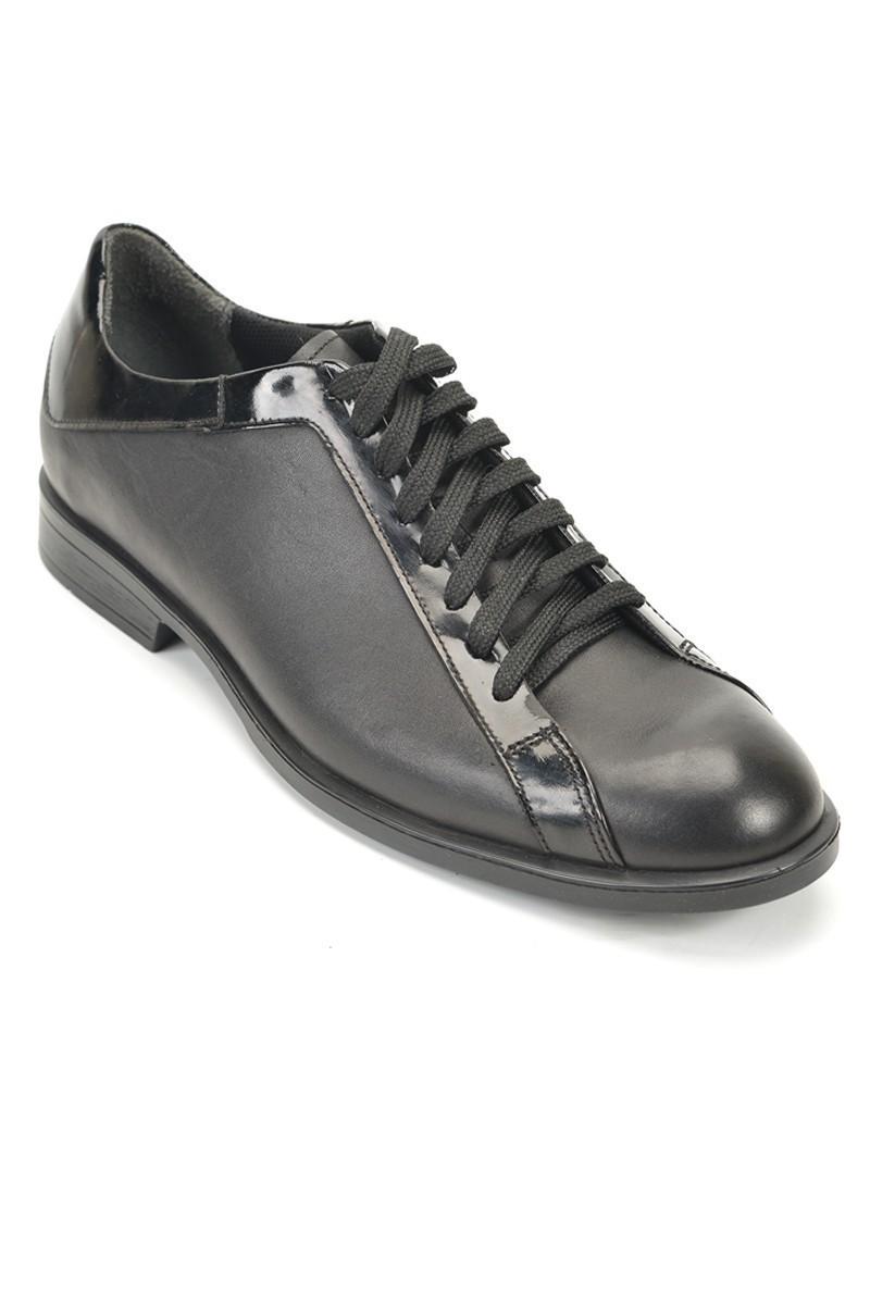Pandew Siyah RMR-343 Hakiki Deri Erkek Ayakkabı