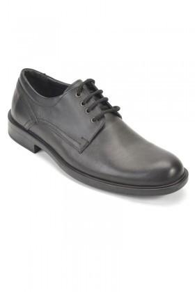 Pandew Siyah RMR-1500 Hakiki Deri Erkek Ayakkabı