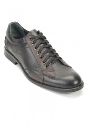 Pandew Siyah RMR-3343 Hakiki Deri Erkek Ayakkabı