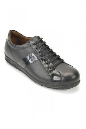 Pandew Siyah RMR-434 Hakiki Deri Erkek Ayakkabı