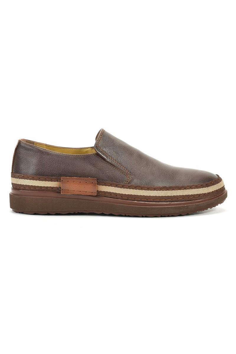 Pandew Kahverengi PNDW-116 Hakiki Deri Erkek Ayakkabı