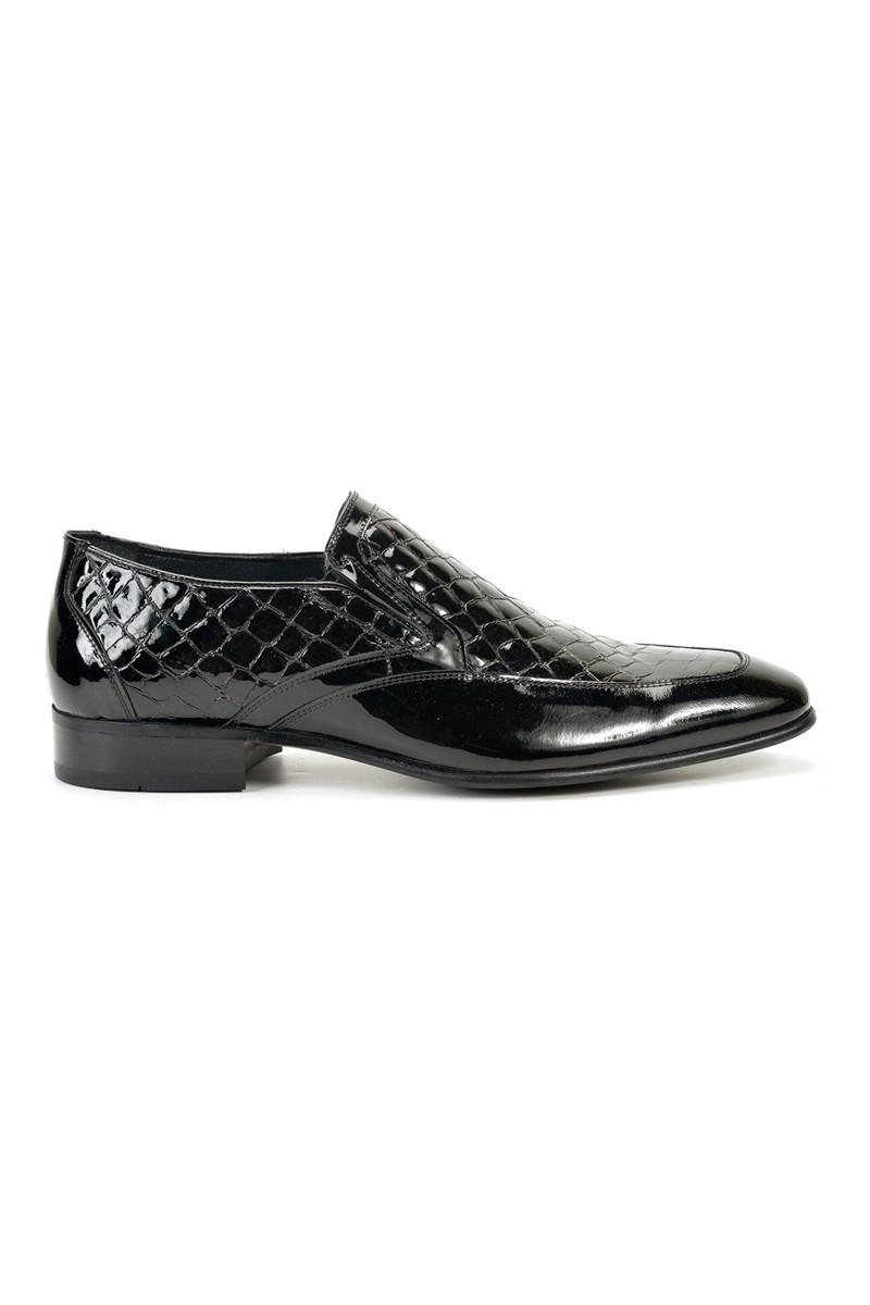 Three Star Siyah TS-9007 Erkek Rugan Ayakkabı