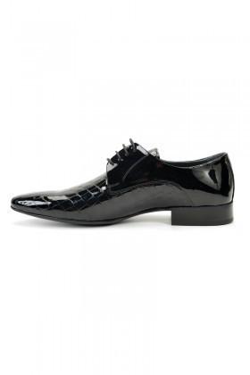 Three Star Siyah TS-9003 Erkek Rugan Ayakkabı