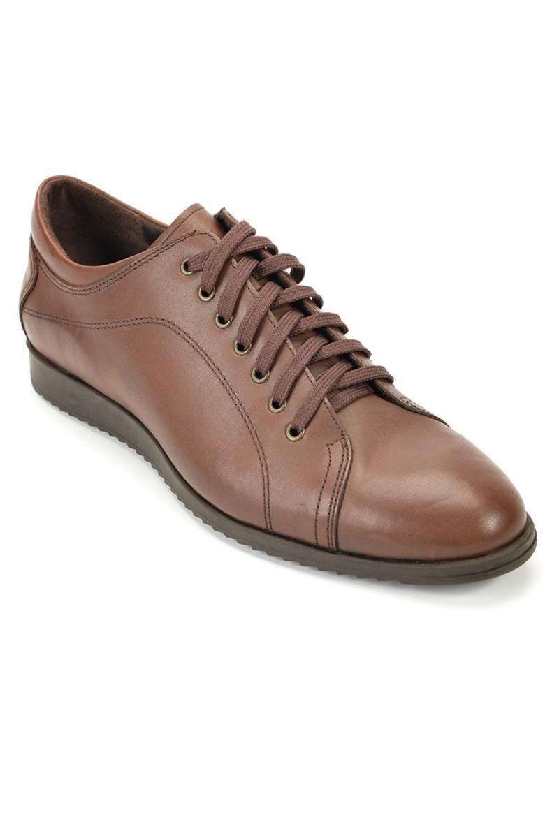 Ramero Kahverengi RMR-28 Hakiki Deri Erkek Ayakkabı