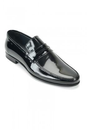 Wenetti Siyah WNT-235 Erkek Rugan Ayakkabı