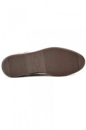 Wenetti Kahverengi-Taba WNT-2222 Hakiki Deri Erkek Ayakkabı