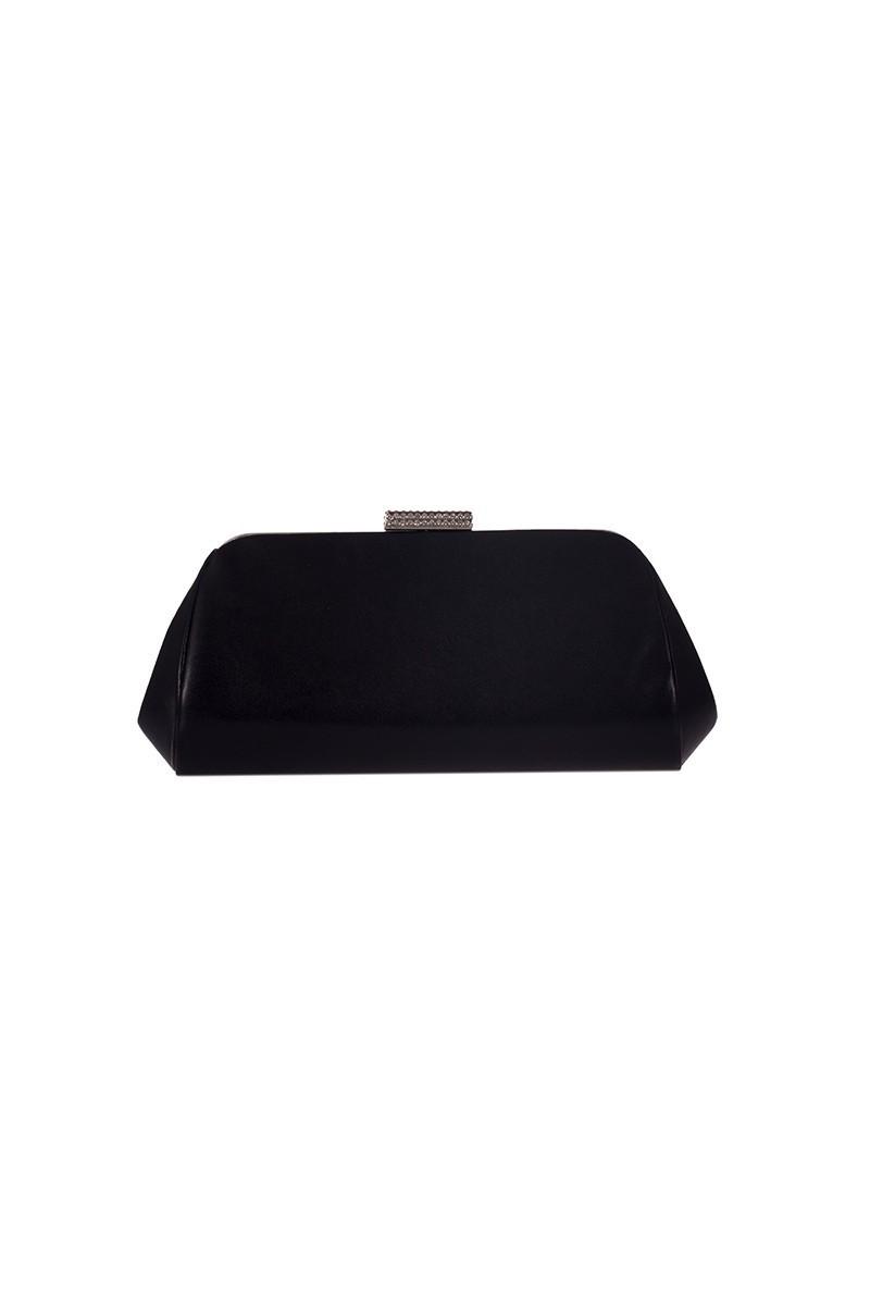 OB Siyah OB-6K0A7036 Taşlı Portföy Çanta