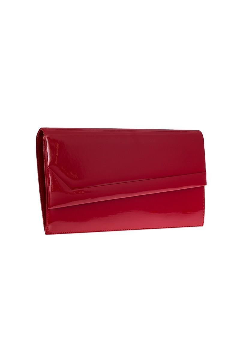 OB Kırmızı OB-6K0A6954 Rugan Portföy Çanta