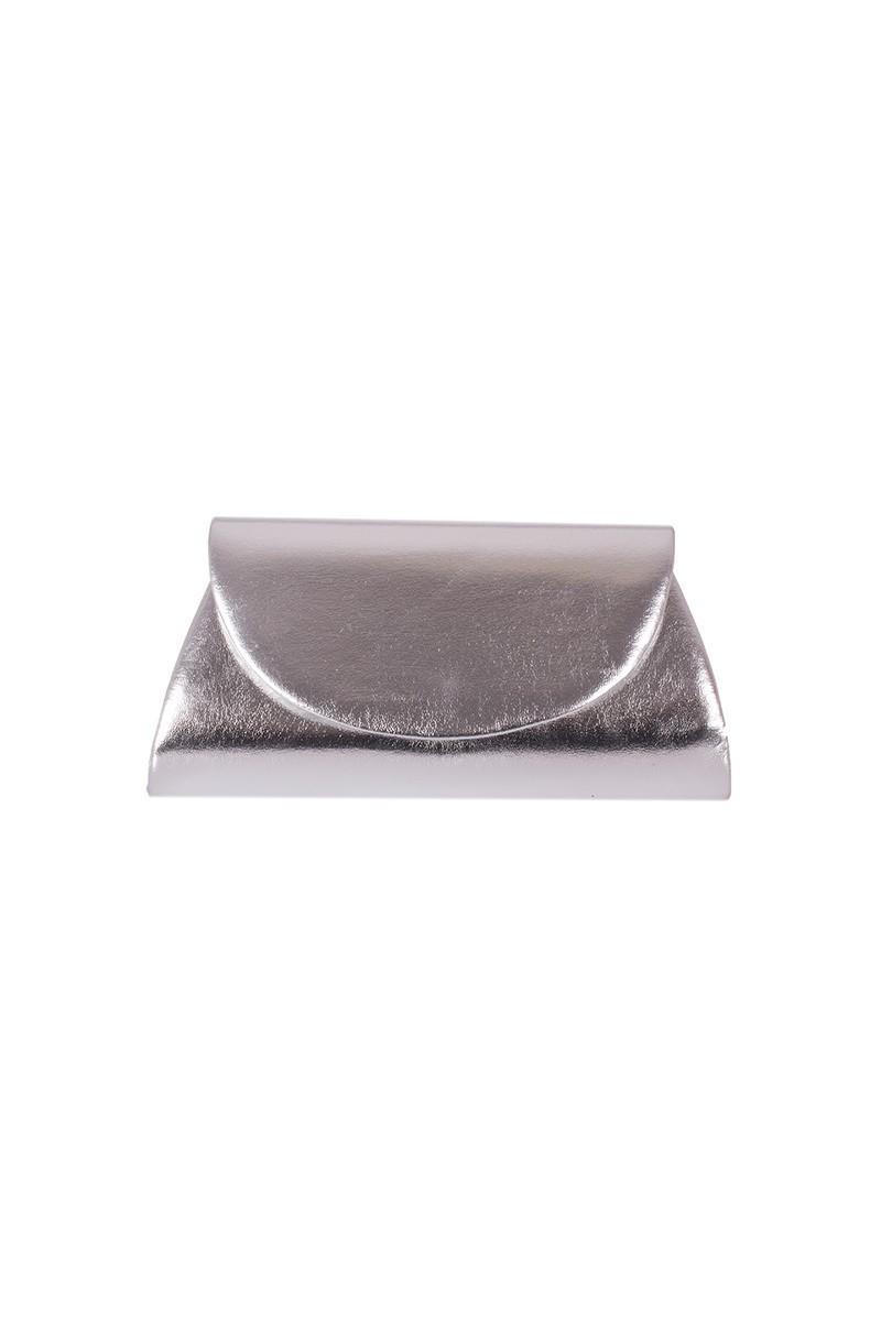 OB Gümüş Rengi OB-6K0A6703 Rugan Portföy Çanta