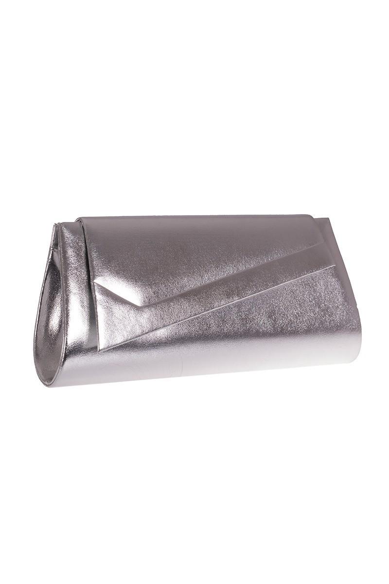 OB Gümüş Rengi OB-6K0A6654 Deri Portföy Çanta
