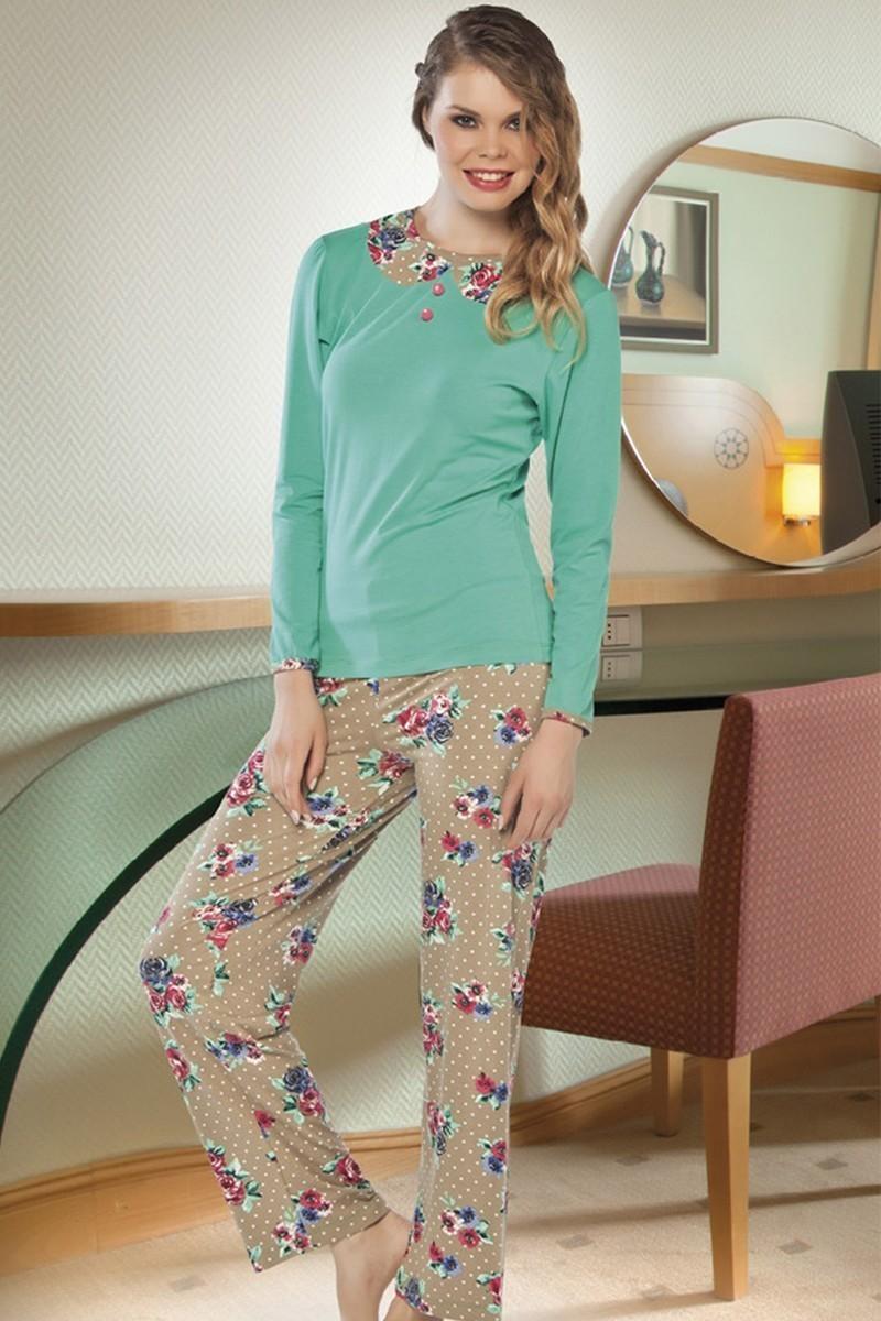 Lady Lingerie Pembe LL-9188 Bayan Pijama