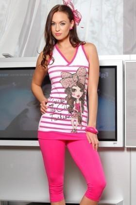 Lady Lingerie Pembe LL-3884 Bayan Pijama