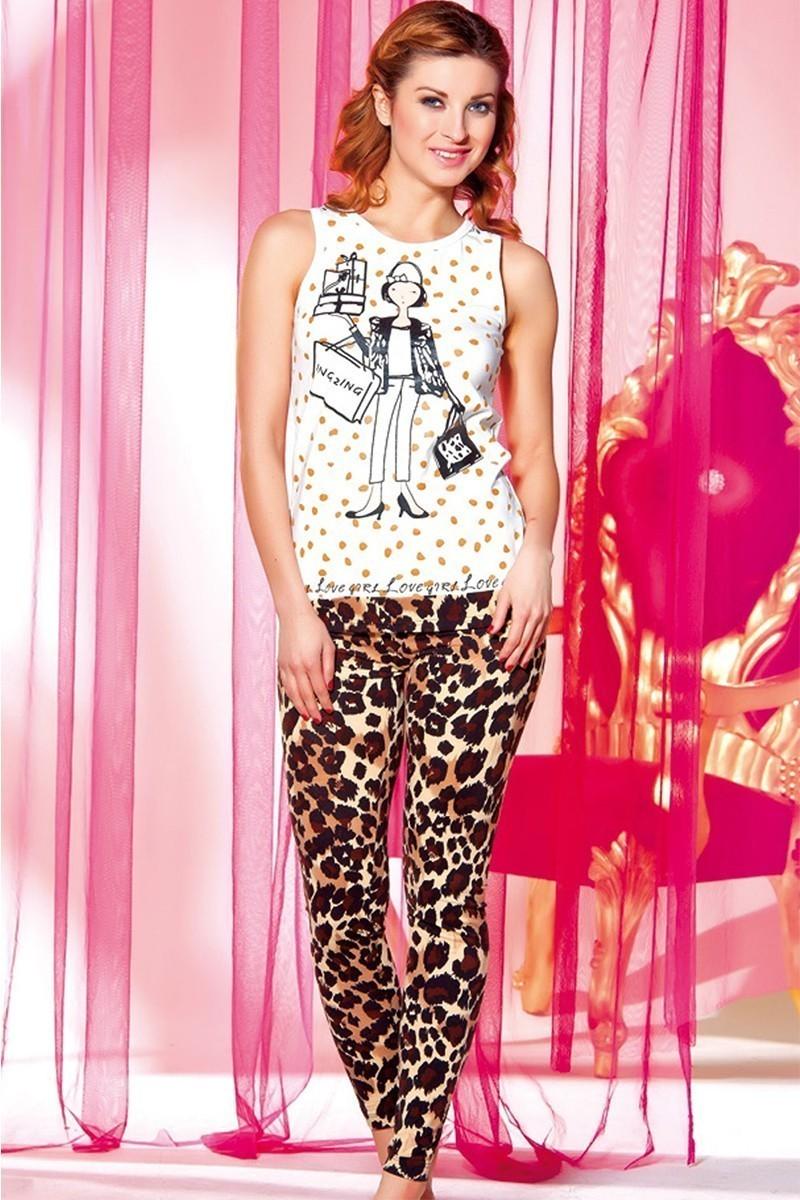 Lady Lingerie Karışık Renkli LL-3751 Bayan Pijama
