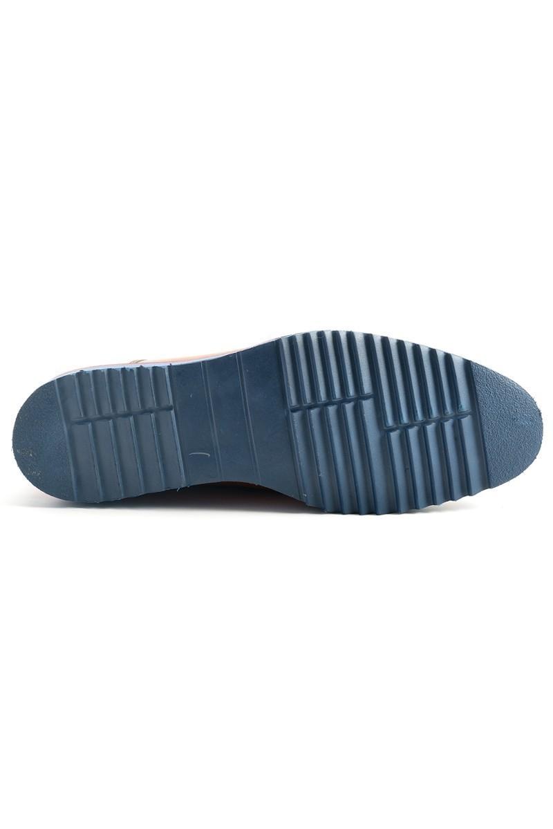 Three Star Taba TS-2079 Hakiki Deri Erkek Ayakkabı