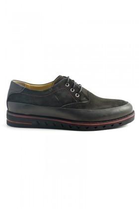Pandew Siyah PNDW-1065 Hakiki Deri Erkek Ayakkabı