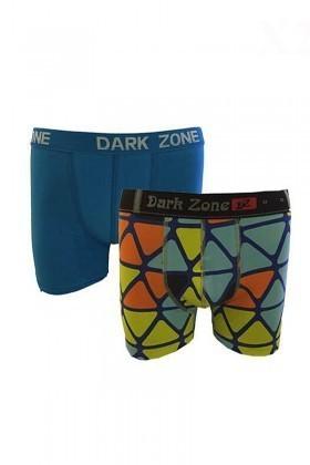 Dark Zone Karışık Renkli DZ-1488 Erkek Boxer