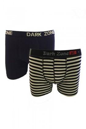 Dark Zone Karışık Renkli DZ-1486 Erkek Boxer