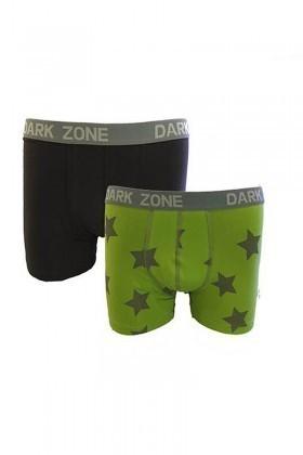 Dark Zone Karışık Renkli DZ-1485 Erkek Boxer
