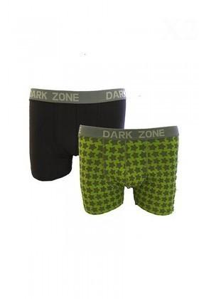 Dark Zone Karışık Renkli DZ-1484 Erkek Boxer