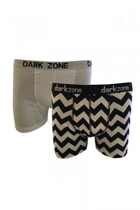 Dark Zone Karışık Renkli DZ-1483 Erkek Boxer