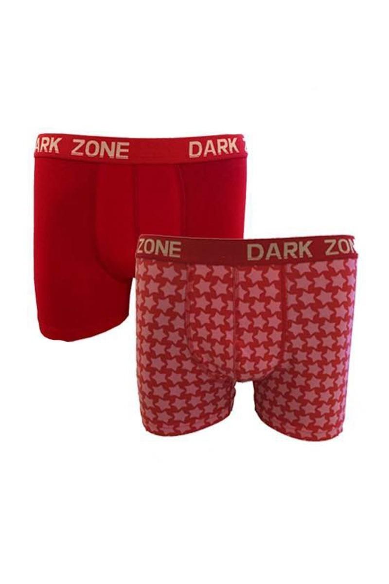 Dark Zone Kırmızı DZ-1481 Erkek Boxer