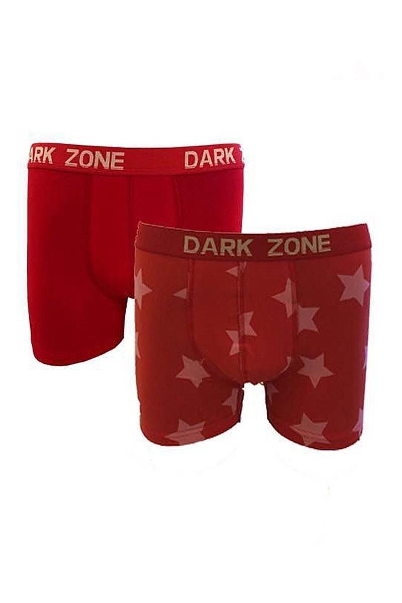 Dark Zone Kırmızı DZ-1480 Erkek Boxer