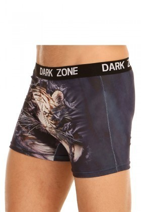 Dark Zone Lacivert DZN-1010 3D Erkek Boxer