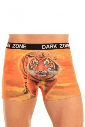 Dark Zone Turuncu DZN-1011 3D Erkek Boxer