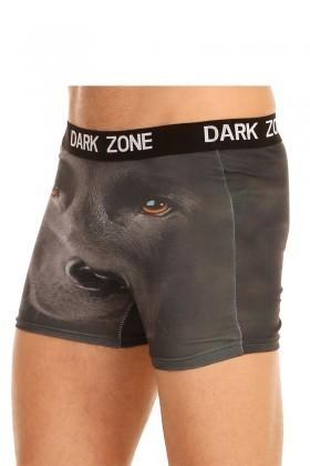 Dark Zone Siyah DZN-1012 3D Erkek Boxer