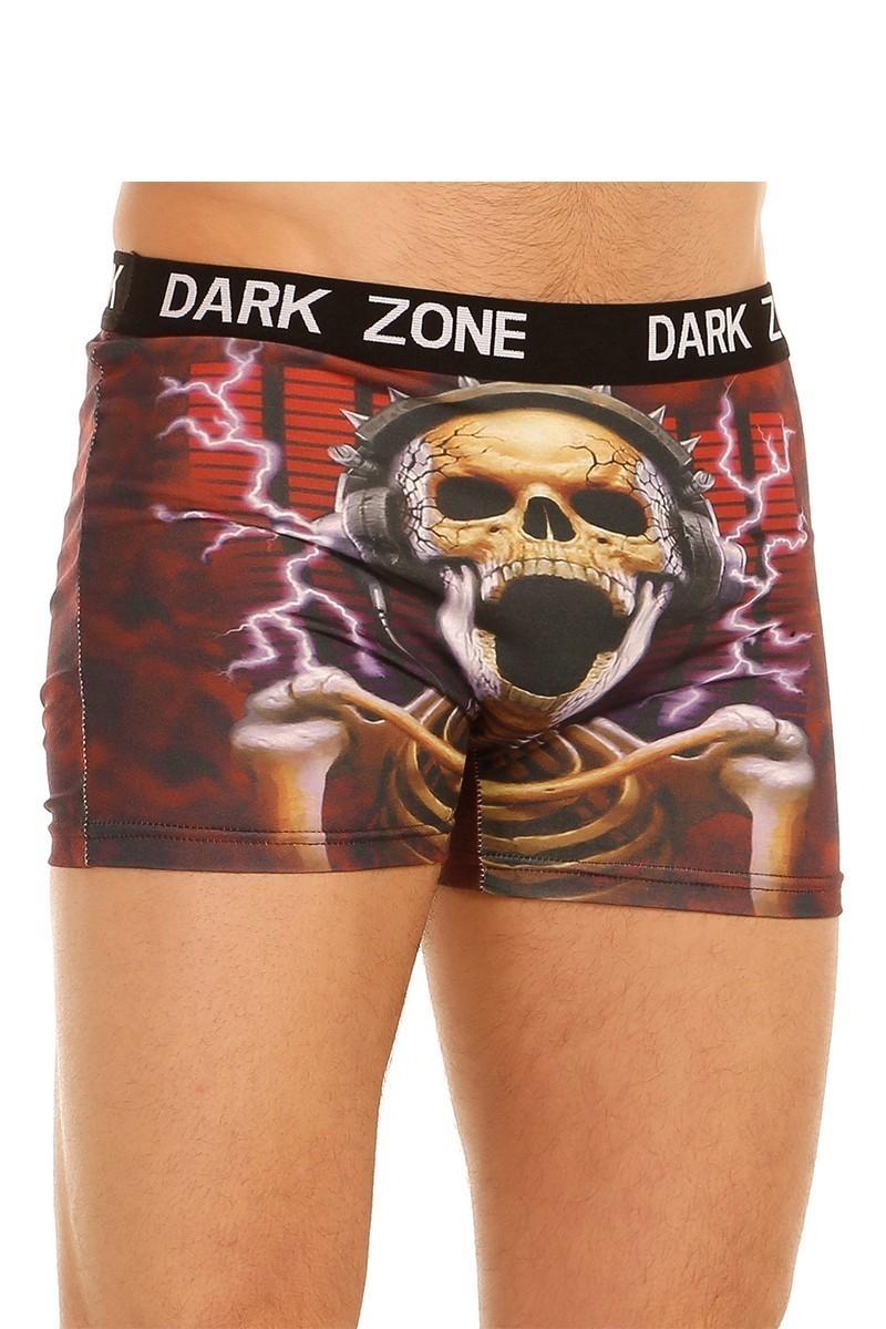 Dark Zone Karışık Renkli DZN-1015 3D Erkek Boxer