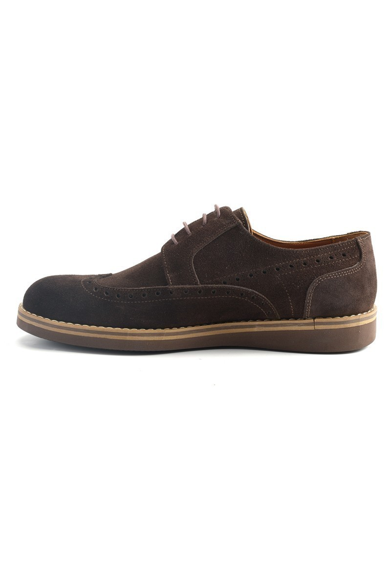Wenetti Kahverengi WNT-120 Hakiki Deri Erkek Ayakkabı