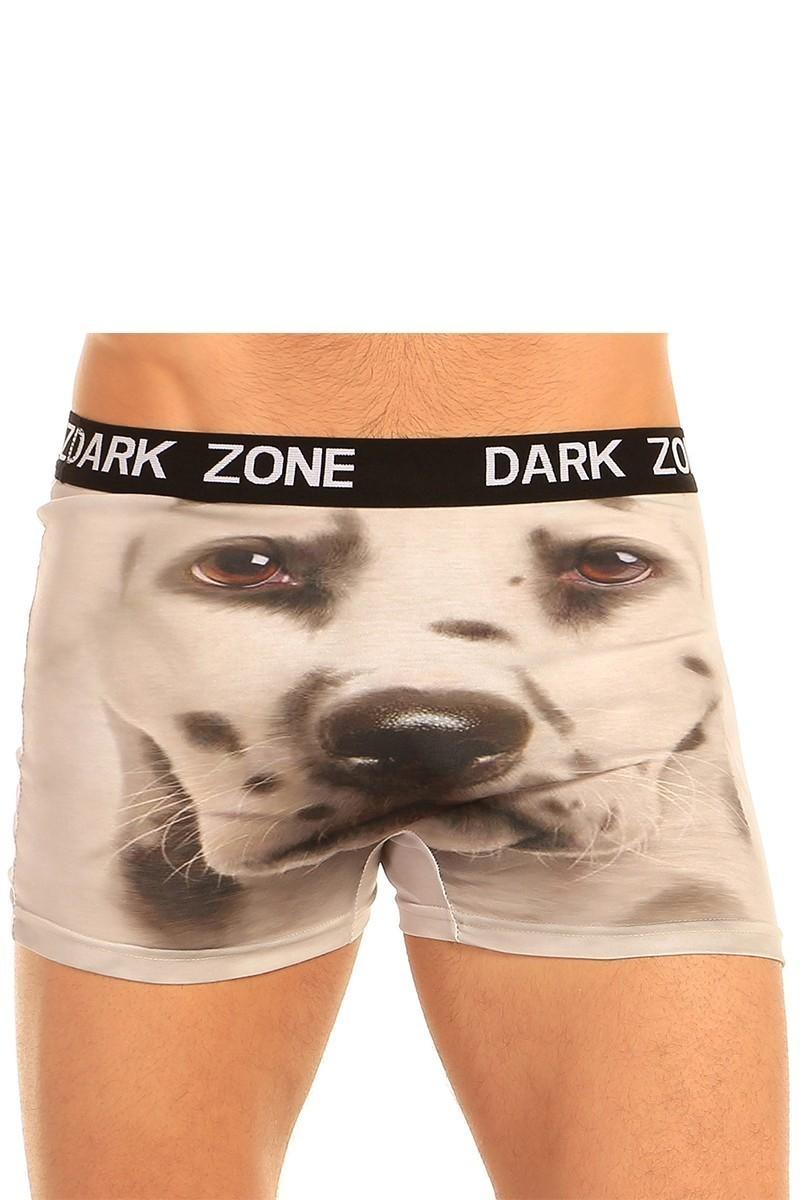 Dark Zone Krem DZN-1019 3D Erkek Boxer