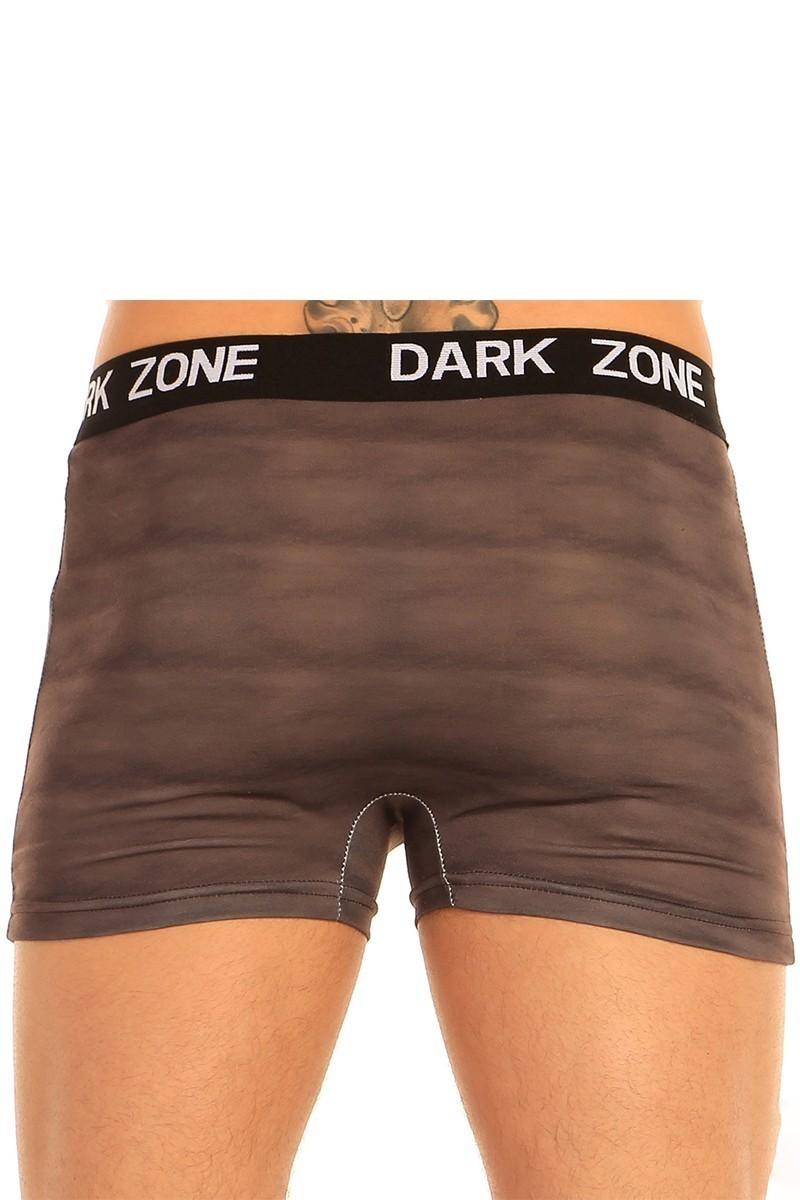 Dark Zone Siyah DZN-1020 3D Erkek Boxer