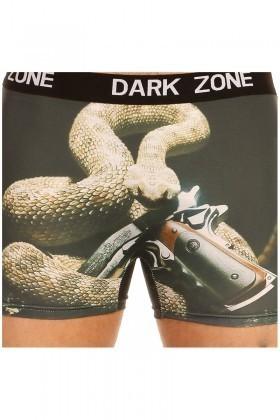 Dark Zone Siyah DZN-1021 3D Erkek Boxer