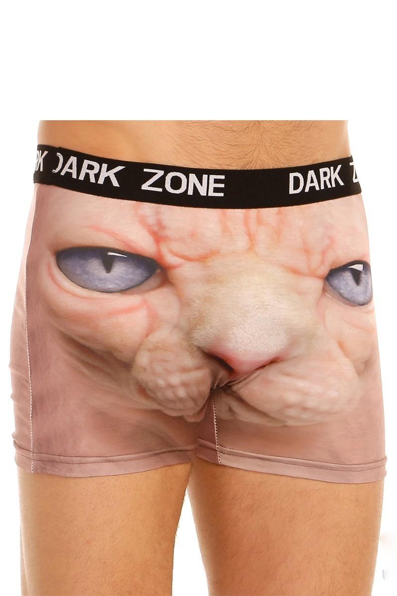 Dark Zone Siyah DZN-1022 3D Erkek Boxer