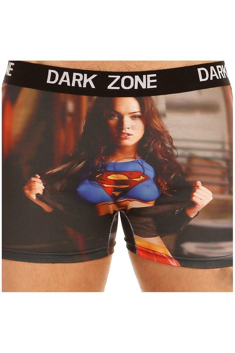 Dark Zone Karışık Renkli DZN-1027 3D Erkek Boxer